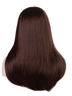 Mix Long Women's Wigs Hairpiece Straight Hair Piece with Headband Chocolate Brown Hair Color, Brown Hair Colors, Deep Brown Hair, Buy Wigs, Womens Wigs, Hair Pieces, Straight Hairstyles, Long Hair Styles, Makeup