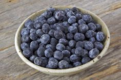 Blueberries are good for your skin.