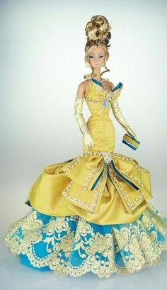 12.25.3 Opera in Paris,Silkstone BArbie Doll../