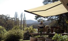 markilux folding-arm awnings are designed in Germany and proven in the harsh conditions of the Australian summer.