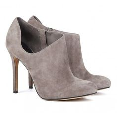 Gray Heels/Boot Syle