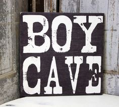 Boy Cave Sign, Personlized Baby Gift, Baptism Gift, Nursery Decor, Baby Nursery, Nursery Wall Art Custom Boys Sign  for a Boys Room by MadiKayDesigns on Etsy