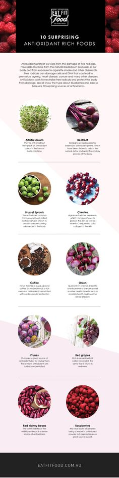 Here are ten antioxidant rich foods that you must eat regularly and add to your daily diet if you haven't already.
