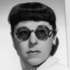 Edith Head - THE American costume designer that won 8 Academy Awards....My Hero of the fashion world!!!...b♡