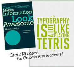 Teaching Graphic Design: Classroom poster lesson