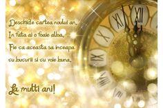 Felicitare Anul Nou ceas