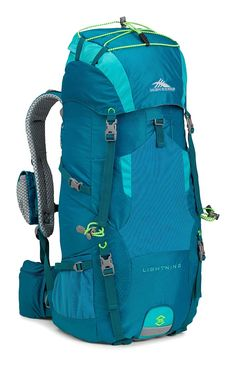 High Sierra Lightning 35 Female Pack, Sea/Tropic Teal/Zest * Check out @ http://www.amazon.com/gp/product/B00NBSER2K/?tag=usefulcamp-20&phi=060816001154
