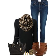 """""""Black Sweater"""" by mcsp on Polyvore"""