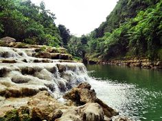 Air terjun Sri Gethuk Jogja