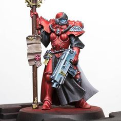 40k Sisters Of Battle, The Inquisition, Warhammer 40k Miniatures, The Grim, Space Marine, Blue Ombre, Character Drawing, Figure Painting, Overwatch