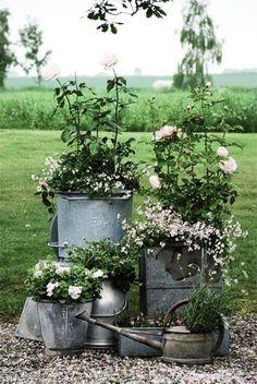 Как сделать огород красивым своими руками фото. Поделки для дачи