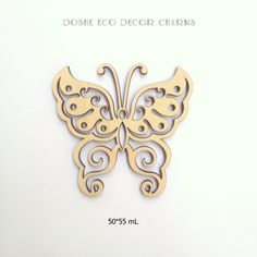 Sweet laser cut Butterflies / Butterfly wings / Wood charms / Wood butterfly / Wedding decor / Laser cut wood / Wood embellishments / Decor by DosheEcoDecorCharms on Etsy