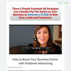 Fb Ads Insider Is A Video Training Program That Teaches 5 Profit Generating Fb Ad Super Strategies. The Program Includes Training Videos, Transcripts, A Strategy Guidebook, And Worksheets. Visit Http://www.amyporterfield.com/ads/affiliates See more! : http://get-now.natantoday.com/lp.php?target=amyport
