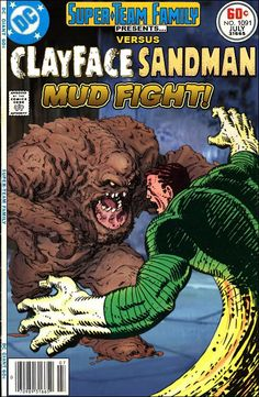Super-Team Family: The Lost Issues!: Clayface Vs. Sandman