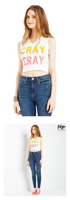 2fde7ea541983 Amazon.com  Aeropostale Womens Cray Cray Tank Top  Clothing