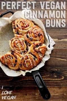 So, how do we feel about cinnamon buns? More specifically, super soft, ultra-fluffy, perfectly sweetened and spiced, 100% VEGAN cinnamon buns complete with a sticky pecan raisin glaze...