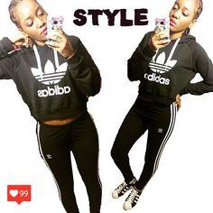 全部Adidas気分だった🐵 #ootd #fashion #styleblogger #fashionblogger #style #adidasoriginals #adidas #black #cornrows #braids #kicks #sneakers  #croptop #90sfashions #90s #vintage #instalike #photooftheday #コーディネート #コーデ #ファッションブロガー #ファッション #スタイル #ny #彼カジ