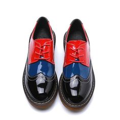 huge discount 32b89 97cdd Leather Brogues, Patent Leather, British Style, Women Oxford Shoes, Fashion  Flats, Fashion Women, Style Fashion, Womens Flats, Latest Fashion Trends