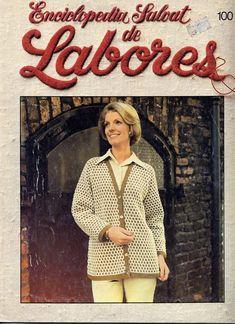 Labores de Salvat Nº 100, 1983 Shibori, Blazer, Sewing, Jackets, Knitting Patterns, Women, Style, Fashion, Fabrics
