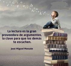 La #lectura nos dota de pensamiento crítico que nos ayuda a construir argumentos. No hará falta que grites para que todos te escuchen ;-) #BibUpo