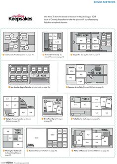 Free download: CK Bonus Sketches featured in the July/August 2013 issue of Creating Keepsakes magazine. http://www.creatingkeepsakes.com/content_downloads/CK_07-08_Sketches_v1.pdf