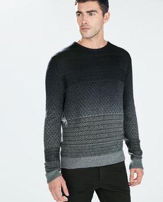 The Ombre look is in for Knitwear - Zara