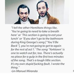 Lin-Manuel Miranda's advice for those who play Alexander Hamilton Alexander Hamilton, Theatre Geek, Musical Theatre, Hamilton Lin Manuel Miranda, Hamilton Musical, Out Of Touch, What Is Your Name, Fandoms, Dear Evan Hansen