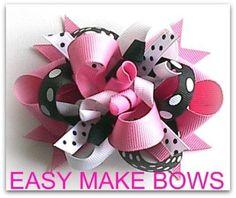 Kids Magic Hair Bow Maker - free hair bow instructions