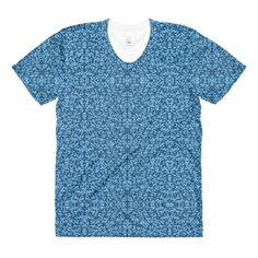 Blue Berry Vines Women's Shirt