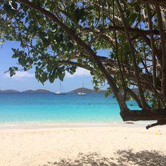 Perfection on Honeymoon Beach #stjohn #usvi #island #beach