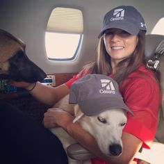 Dallas and I are about to tip these cessna hats down and close our eyes.... But Ella isn't havin…