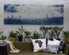 Johannesburg skyline made to order, photograph taken by iwasshotinjoburg. Johannesburg Skyline, Photograph, Tapestry, Home Decor, Photography, Hanging Tapestry, Tapestries, Decoration Home, Room Decor