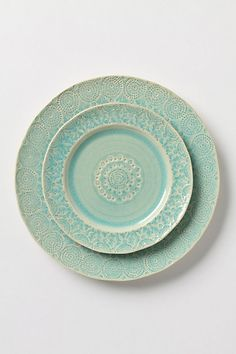 I want this in my old cottage, sooner rather than later    Anthropologie Old Havana Dinnerware