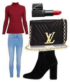 """""""Untitled #9"""" by emilyharwoodx on Polyvore featuring Rumour London, MANGO and NARS Cosmetics"""