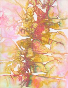 Original Watercolor Painting Abstract Wall Art by Shockeyrotica, $60.00