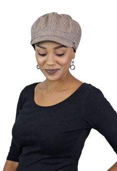 e3c44222f6f7d Baker Street Tweed Newsboy Cap for Women. Perfect fall chemo hat! Hats For  Cancer