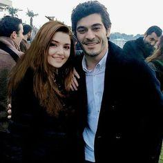Murat And Hayat Pics, Pole Star, Hande Ercel, Turkish Beauty, Jon Snow, My Favorite Things, Stars, Couple Photos, Couples