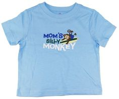 Jumping Beans Infant 12-24M Baby-Boys Blue Mom's Silly Monkey Tee/Top/T-Shirt Jumping Beans,http://www.amazon.com/dp/B00BVQGPU6/ref=cm_sw_r_pi_dp_M70Drb6A353D418B
