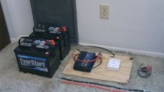 How To Build A Simple Off Grid Electricity Generation System Using Two Batteries... - http://www.ecosnippets.com/alternative-energy/simple-off-grid-electricity-two-batteries/