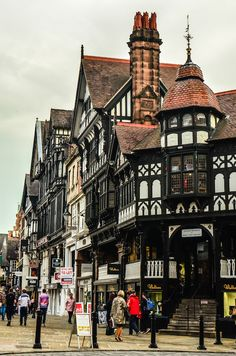 Architecture of Chester, England