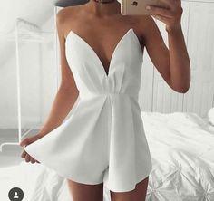 roupa, macaquinho, branco