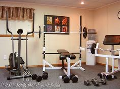 Mirrors Can Make A Small Workout Space Seem So Much Larger Home - Small home gyms