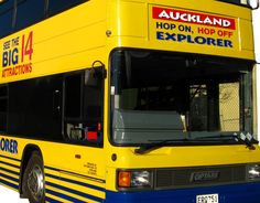 Auckland Explorer Bus Tours - Best 14 Sightseeing attractions, activities & things to do in Auckland on Hop On Hop Off Explorer sightseeing bus tour of Auckland Sightseeing Bus, Auckland, Attraction, Tours, Activities, Explore, Exploring