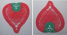 Centro de mesa de barbante. Crochet centerpiece.