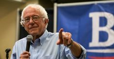 """""""The nation's leading political fact-checker has debunked Hillary Clinton's recent attacks on Bernie Sanders' healthcare plan."""" #FeelTheBern"""