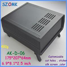 szomk electrical cabinet electronic equipment enclosure (1 pcs)175*207*64mm diy electronic box plastic electronics project box