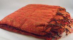 Nepalese Yak Wool Large Throw Blanket/Shawl by OxfordCraftNepal