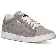 Puma Women's Match Lo Canvas Casual Sneakers from Finish Line ($35) ❤ liked on Polyvore featuring shoes, sneakers, lined shoes, canvas shoes, puma footwear, canvas footwear and puma trainers