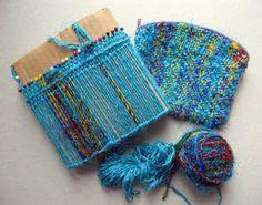 Un blog de ideas y tutos de tejido muy interesante. Ruth's weaving projects