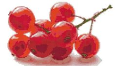 Redcurrants  a Counted Cross Stitch Pattern by WooHooCrossStitch, $9.00